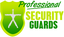 professional security guards logo